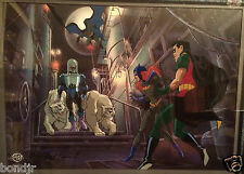 "Wbss ""Subzero"" Animation Cel - 1997 Sold Out Rare Cel Art"