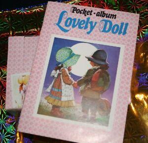 Lovely Doll COX  NEU  Album + 100 Tütchen a. 4 Stück Bilder  PREIS REDUZIERT