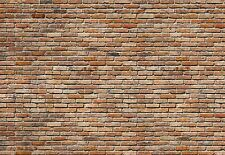 Giant Wall mural photo Wallpaper 366x254cm Red brick wall