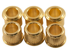 GOLD KLUSON ADAPTER BUSHING SET 6 CONVERT 10mm TO 8mm TUNER HOLE GIBSON EPIPHONE