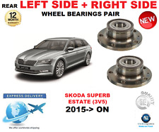 per SKODA SUPERB RUOTA POST CUSCINETTI Pair 2015- > ON 3V5 FAMILIARE SX E DX