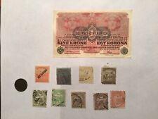 Lot B41 Austria  20 and 10  Kronen 1922  10 pcs