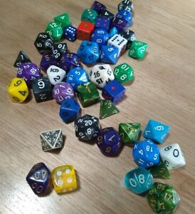 Polyhedral Dice Lot. Includes Everything Pictured.