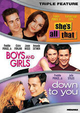 She's All That/Boys and Girls/Down to You (DVD, 2015)