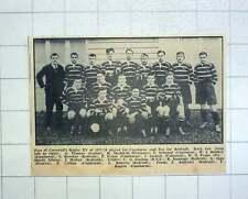 1967 Cornwall Rugby Xv 1927, Jackett , Jennings, Biddick, Peake, Jago