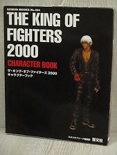 KING OF FIGHTERS 2000 Character Book Guide Neo Geo KOF GB38