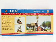 A.H.M. HO U/A DUSTY GULCH WATER STATION PLASTIC MODEL KIT #5742