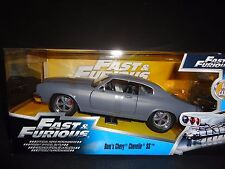 Jada Chevrolet Chevelle SS PLAT GRIS FAST AND FURIOUS 1/24