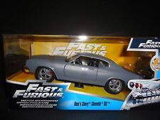 Jada Chevrolet Chevelle SS PLANO GRIS FAST AND FURIOUS 1/24