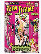 Showcase #59 DC Comics Teen Titans (1965) FN