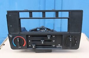 BMW E30 M3 325 HEATER CLIMATE CONTROL  AC RADIO PANEL BLOWER SWITCH CONSOLE OEM