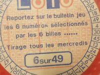 Cabinet des curiosités ésotérisme LOTO-SELF - Française de jeux - VINTAGE - Rare