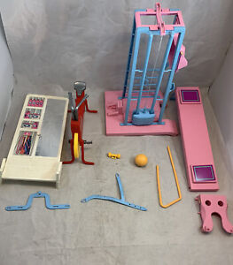Lot Vintage Barbie Mattel Exercise Equipment Accessories