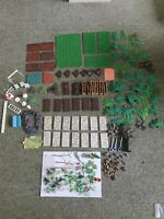 Vintage 1950/60s Large Quantity Of Britains Floral Garden free delivery