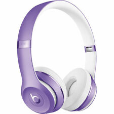 Beats by Dr. Dre Solo3 Over-ear Wireless Headphones - Purple and Pink