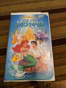 The Little Mermaid - VHS Disney Black Diamond Classic w/ Banned Cover 1989
