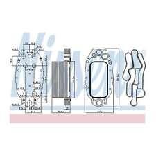 Genuine Nissens Gearbox Oil Cooler - 91118
