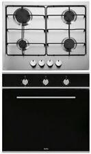 Esatto 60cm Stainless Steel Fan Forced Oven & Gas Cooktop Pack - Model: EOG6FF
