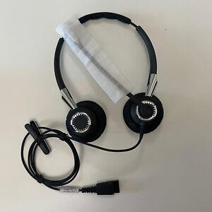 Jabra BIZ 2400 II Duo NC Corded QD MS Black Headband Headsets Brand New