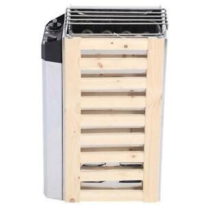 Stufa per sauna acciaio inossidabile resistente corrosione stabile affidabile