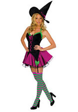 New Womens Playboy Sparkle Witch Costume Large 10-14