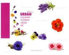 Grow Kit Culinary Flowers Urban Greens Seeds Plants Health Trend Grow Your Own