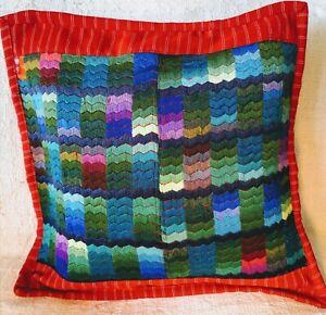 Throw Pillow- Guatemalan Huipil Unique Design Cushion Covers HandMade