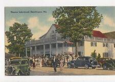 Theatre Lakewood Skowhegan Me 1943 Postcard USA 337a