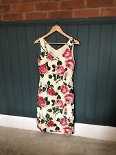 LK Bennett Size 10 Rose Print Dress
