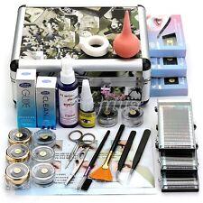Professional Makeup False Extension Eyelash Glue Brush Kit Cosmetic With Box HIY