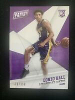 2017 PANINI BLACK FRIDAY LONZO BALL UCLA LAKERS ROOKIE CARD #52 /399
