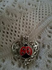 LADYBUG  - SNAP BUTTON ❤ NECKLACE - MY DESIGN