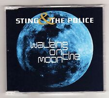 STING & THE POLICE  Promo Cd Single WALKING ON THE MOON 1 track 1997 / 17