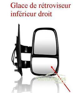 GLACE DE RETROVISEUR INFERIEUR DROITE DROIT IVECO DAILY A PARTIR DE 2006 T9150