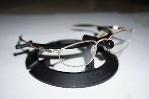 Oakley OO A Wire Platinum Frames Rx Prescription 11-553 Michael Jordan Brown