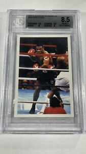 1987 Question Of Sport Mike Tyson Rookie RC BGS 8.5 NM-MT+ With 9.5 Centering