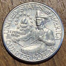 PIECE DE 25 CENTS QUARTER USA COMMÉMORATIVE DE INDÉPENDANCE 1976 D (650)