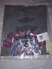4Her By Carl Banks Women L Chicago Cubs Shirt MLB Baseball Illinois Rhinestones
