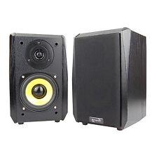Dynavox Regal-Lautsprecher TG-1000B, Schwarz, Paar, Kleine Boxen HiFi Satelliten