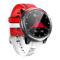 Smartwatch Bluetooth Uhr Rundes HD Display Android iOS Samsung iPhone Huawei IPX