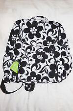 New with Tags $99 VERA BRADLEY DOUBLE ZIP BACKPACK in NIGHT & DAY 14315-052