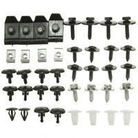 40X Car Engine Undertray Cover Clips Bottom Shield Guard Screws For Toyota