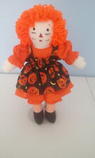 Raggedy Ann Doll 15 inches HANDMADE HALLOWEEN