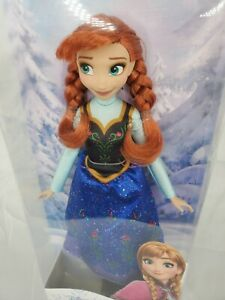 NEW Hasbro Disney Frozen Classic Fashion Anna Doll
