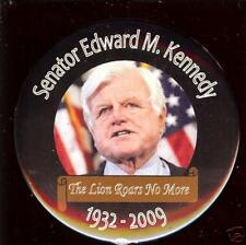 2009 TED KENNEDY PIN Memorial LION Roars no More