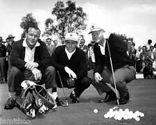 Jack Nicklaus Arnold Palmer Gary Player Golf 8x10 Photo 003
