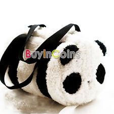 Personality Large Cute Soft Plush Panda Handbag Travel Storage Shoulder Baby Bag