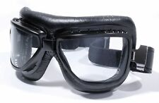 Motorcycle Glasses Aviator Shades Goggle Black Ski Cabriolet Vintage Car NEW