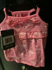 New listing Bailey & Bella Dog Companion Couture Pink Flamingo Dress Nwt Xs Freeship So Cute