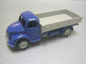 Dinky Toys 414 Dodge Rear Tipping Wagon truck scarce Violet blue + gray NM